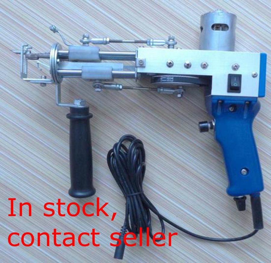 On stock 110V-220V Manual carpet tuft-cutting loom electro-needle electro-gun mechanical tools No load speed 10000r/min enlarge