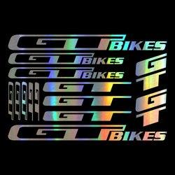 Vinil para gt bicicletas bicicleta acessórios decalque adesivos folha quadro ciclo ciclismo mtb estrada