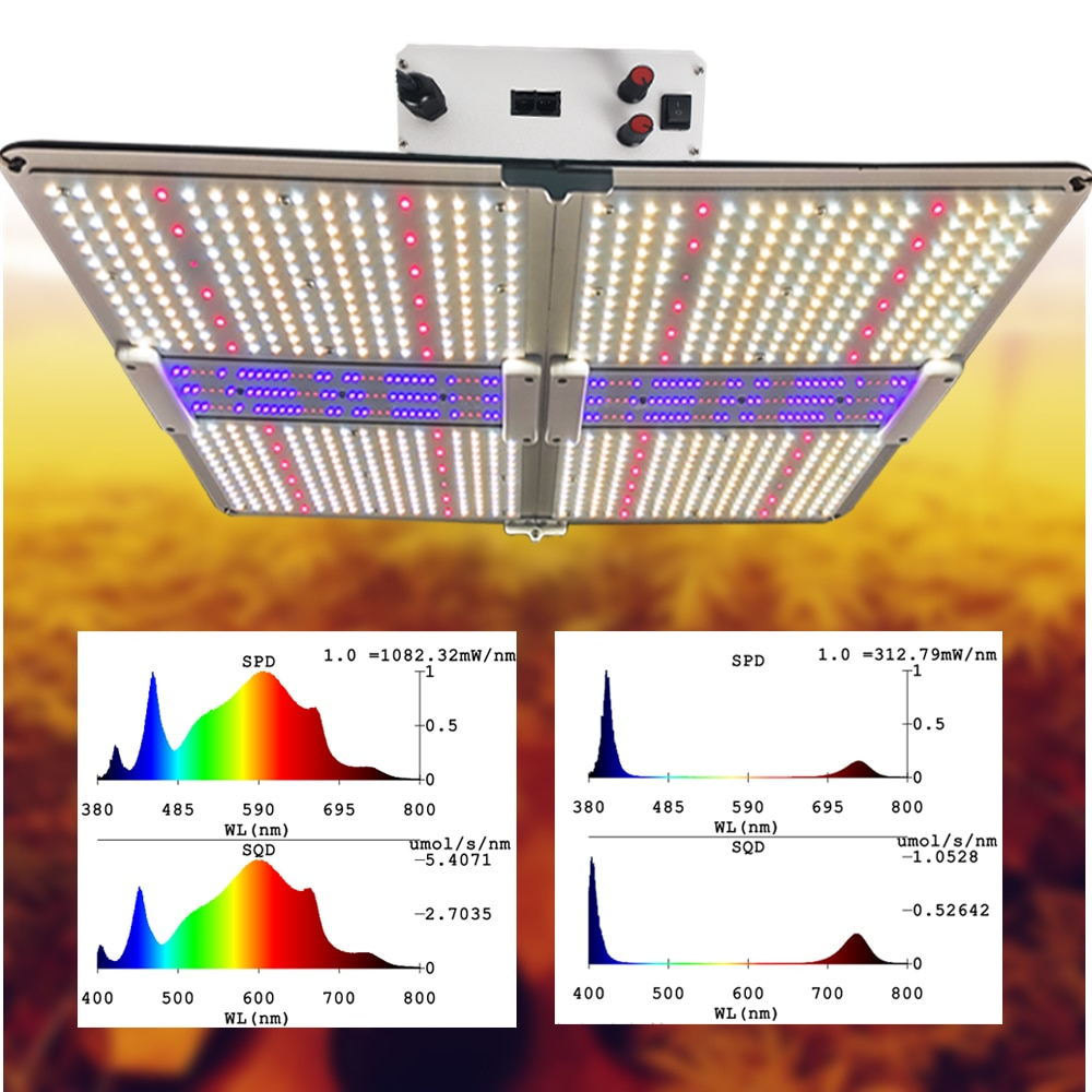 2021 Latest Full Spectrum UV IR LED Grow Light Samsung 4000W 6000W Indoor Greenhouse System Planting Exclusive PhytoLamp