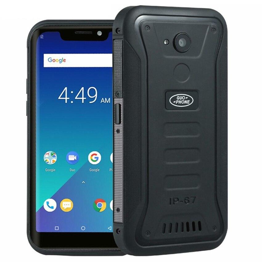 Guophone X3 4G smartphone IP68 waterproof Waterproof Android 8.1 Telephone MTK6739 Quad Core 5.5