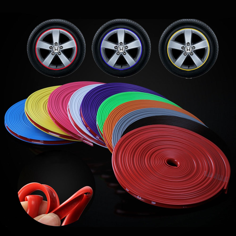 8M Car Wheel, Rim, Stripe, Tape, Protector, Car Rim, Protec                                                   35/5000
