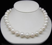aaa 9 10 mm perlas de agua dulce blanca oro macizo natural pearl necklace factory wholesale price women gift word jewelry