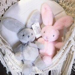 Горячие супер мягкие 25 см галстук-бабочка кролик милый кролик мягкие плюшевые игрушки детские подарки на день рождения свадебные декорации вечеринок рождественские подарки