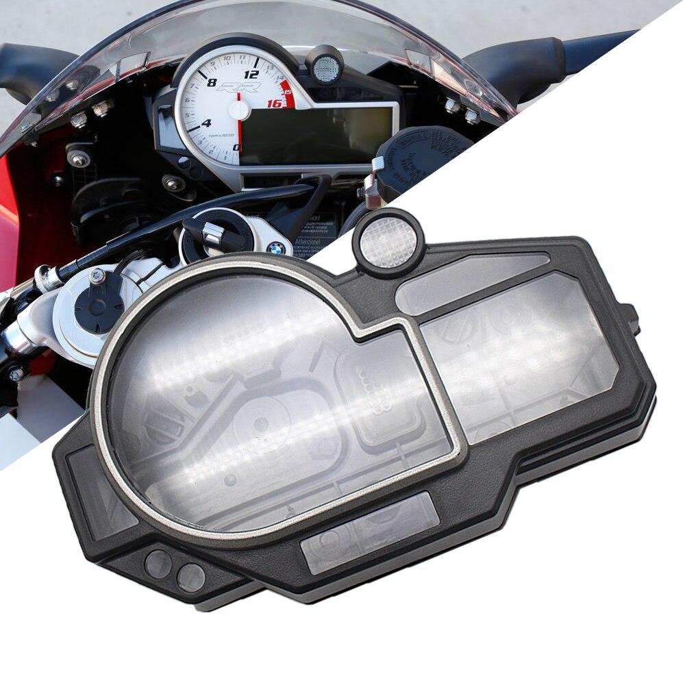 عداد السرعة علبة عداد المسافات أداة قياس غطاء مقياس سرعة الدوران لسيارات BMW S1000RR HP4 2009-2014 2013 2012 2011 2010