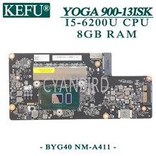 KEFU NM-A411 carte mère dorigine pour Lenovo YOGA 900-13IK avec 8GB-RAM I5-6200U carte mère dordinateur portable