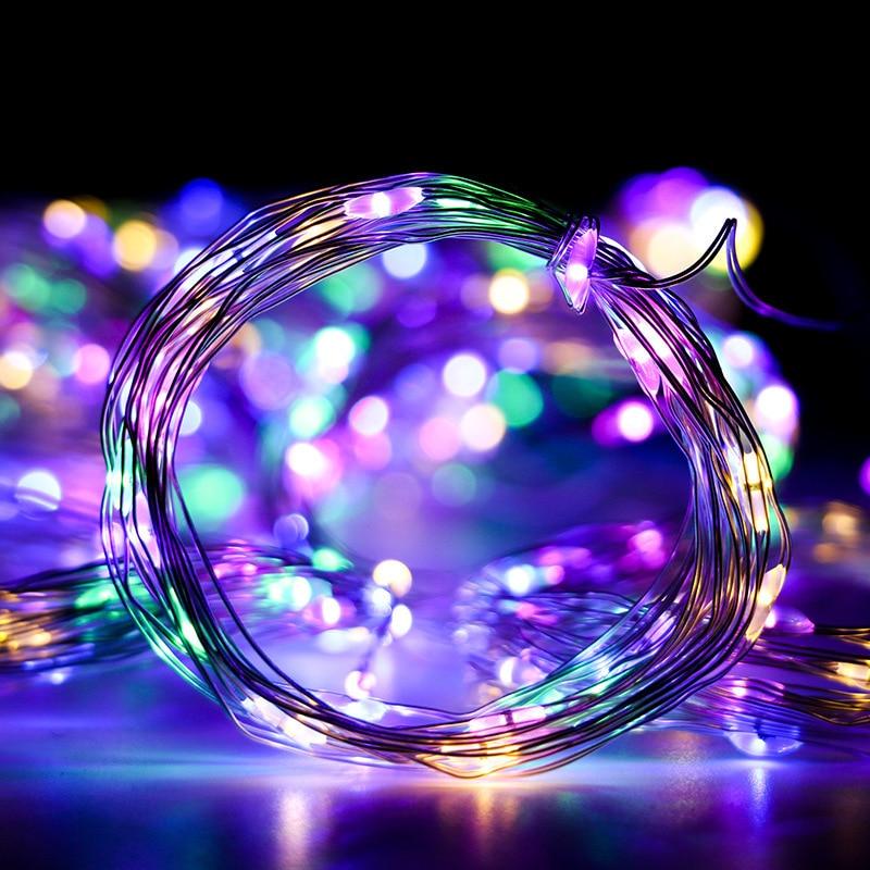 3m X 3m ghirlandă de perdea cu LED-uri pe fereastră USB lumini de - Luminări festive - Fotografie 4