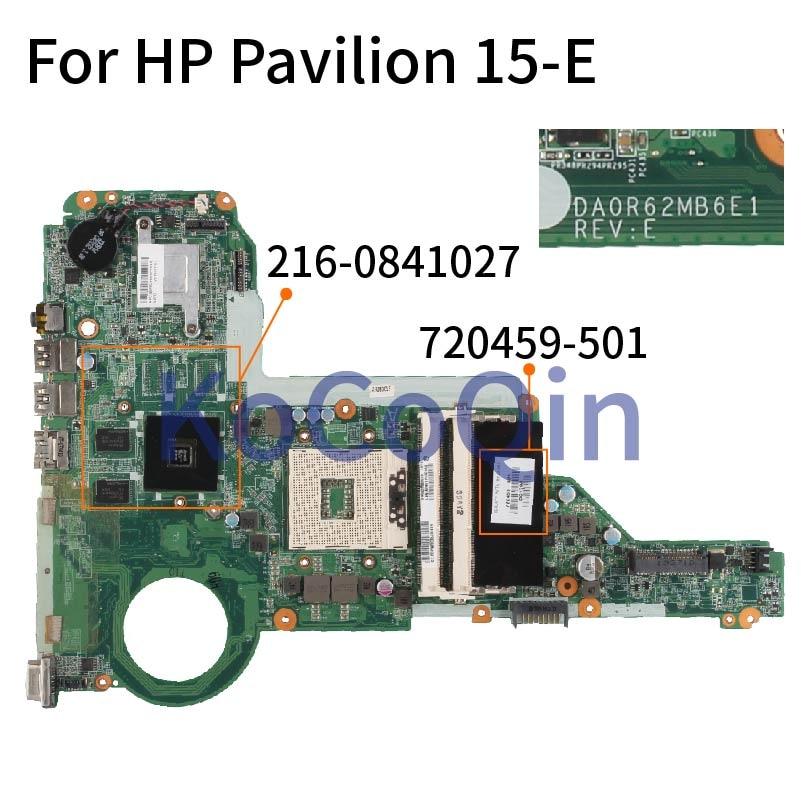 اللوحة لابتوب HP جناح 14-E 15-E 17-E HM77 اللوحة 720459-501 720459-601 DA0R62MB6E1 SLJ8E 216-0841027 DDR3