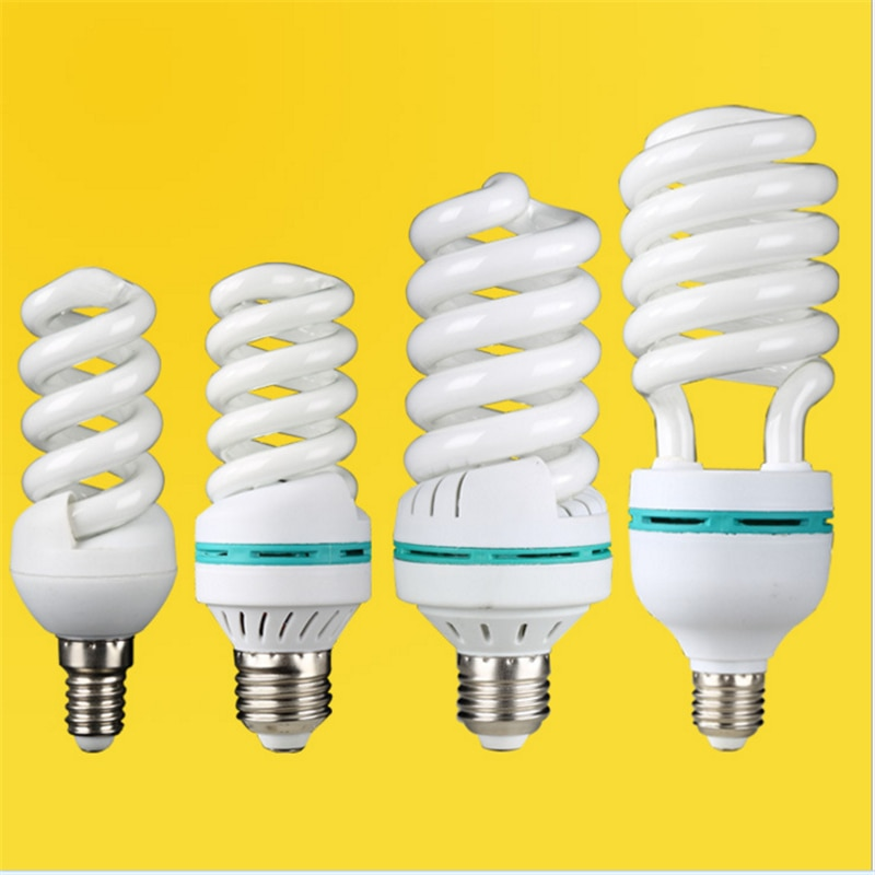 AC170-240V E27 E14 B22 65W 85W 125w high power spiral tube energy saving lamp Fluorescent light bulb
