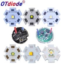 1 ensemble Cree XTE XT-E XPE XP-E XP-G2 XPG2 XBD XB-D XRE XR-E XPE2 XP-E2 ampoule LED puce lumière + 3-3.7V 3W 16mm/20mm 1 Mode Driver