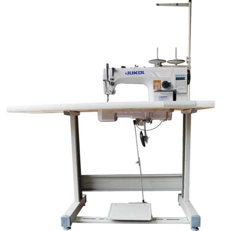 Fully automatic lockstitch sewing machine computer direct drive flat car industrial electric sewing machine