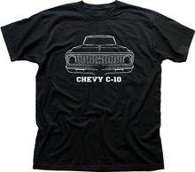 Tops de verano Cool camiseta divertida Chevrolet Badge inspirado Chevy Car V8 algodón negro camiseta 0578 imprimir camiseta hombres