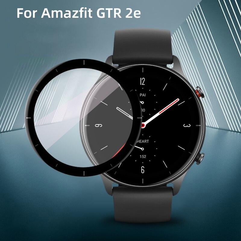 Soft Fibre Glass Protective Film Cover For Amazfit Watch GTR 2e For Xiaomi Full Screen Protector Cas