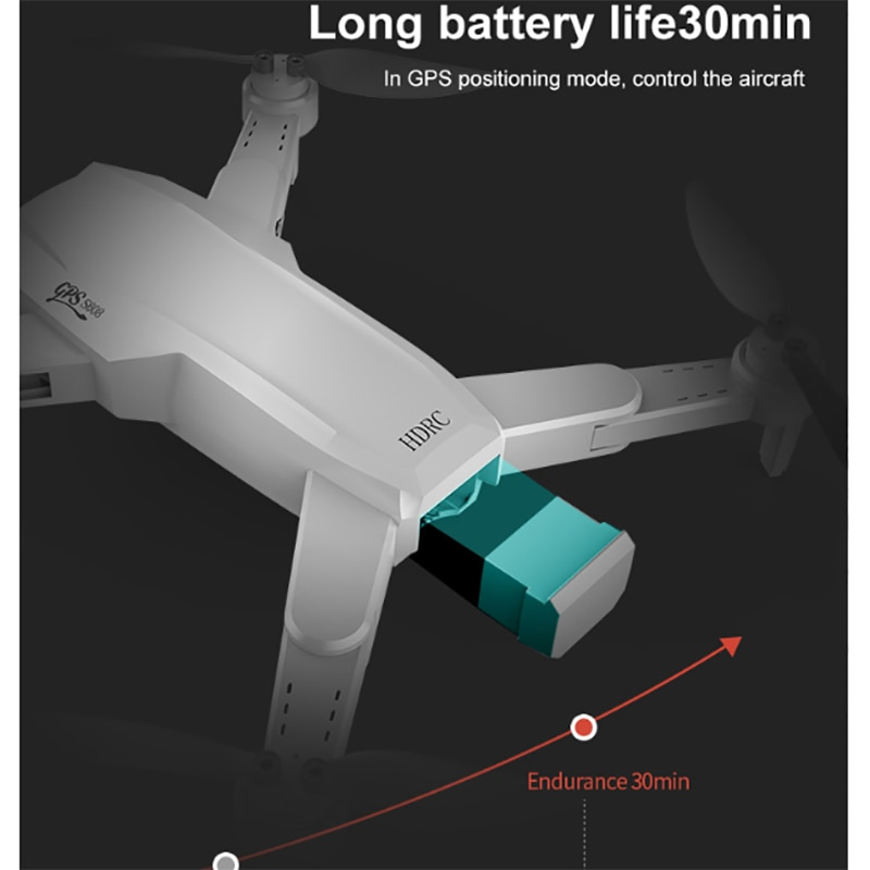 New GPS drone 6K dual HD camera professional aerial photography wifi FPV GPS brushless motor drone 4k professional Remote contro enlarge