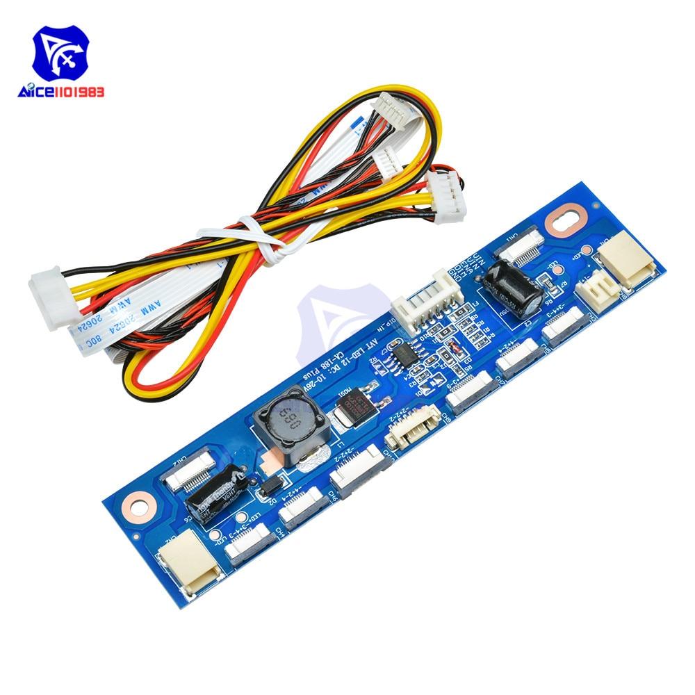 Diymore Multi-funktion Inverter für Hintergrundbeleuchtung LED Konstante Strom Bord Fahrer Bord 12 Anschlüsse LED Streifen Tester
