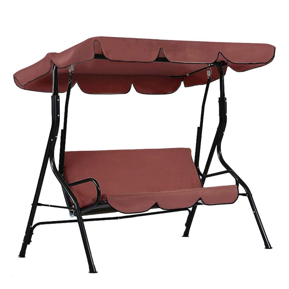 Cubierta de columpio, cubierta de jardín, impermeable, resistente a los rayos UV, cortina para silla, hamaca para patio, tienda, columpio, cubierta superior, tela de sombra