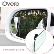 Overe 1Set Car Rearview Mirror 360 Wide-angle Lens For Ford Focus 2 3 Fiesta Mondeo MK4 Ranger Toyota Corolla chr RAV4 yaris