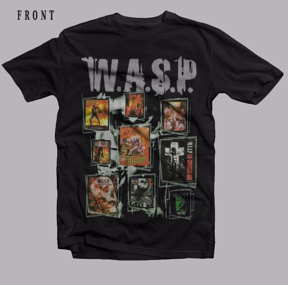 W.A.S.P.-American heavy metal band-Judas Priest T-shirt-SIZES S to 7XL