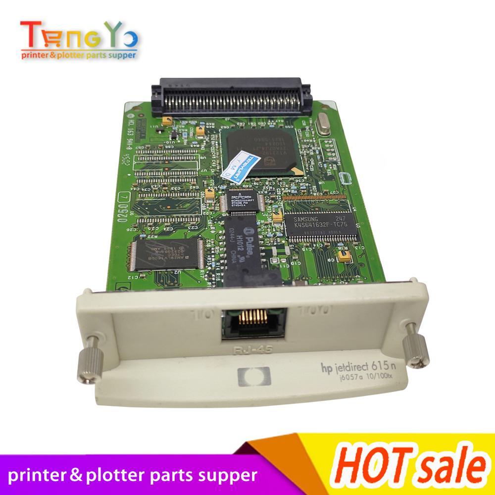 J3113A J4169A J6057A J7934A J7934G J7964G 10/100tx para HP JetDirect 600n 610n 615n 620n red servidor de impresión Tarjeta de impresora