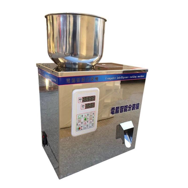 ماكينة تعبئة مسحوق ملح سكر, مستعملة بكثرة شبه آلية يدوية 2-100 جرام