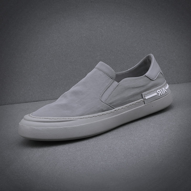 brand canvas casual New 2020 Summer Fashion Brand Canvas Shoes Lightweight Breathable Youth Men's Cloth Shoes Pedal Casual Board Shoes