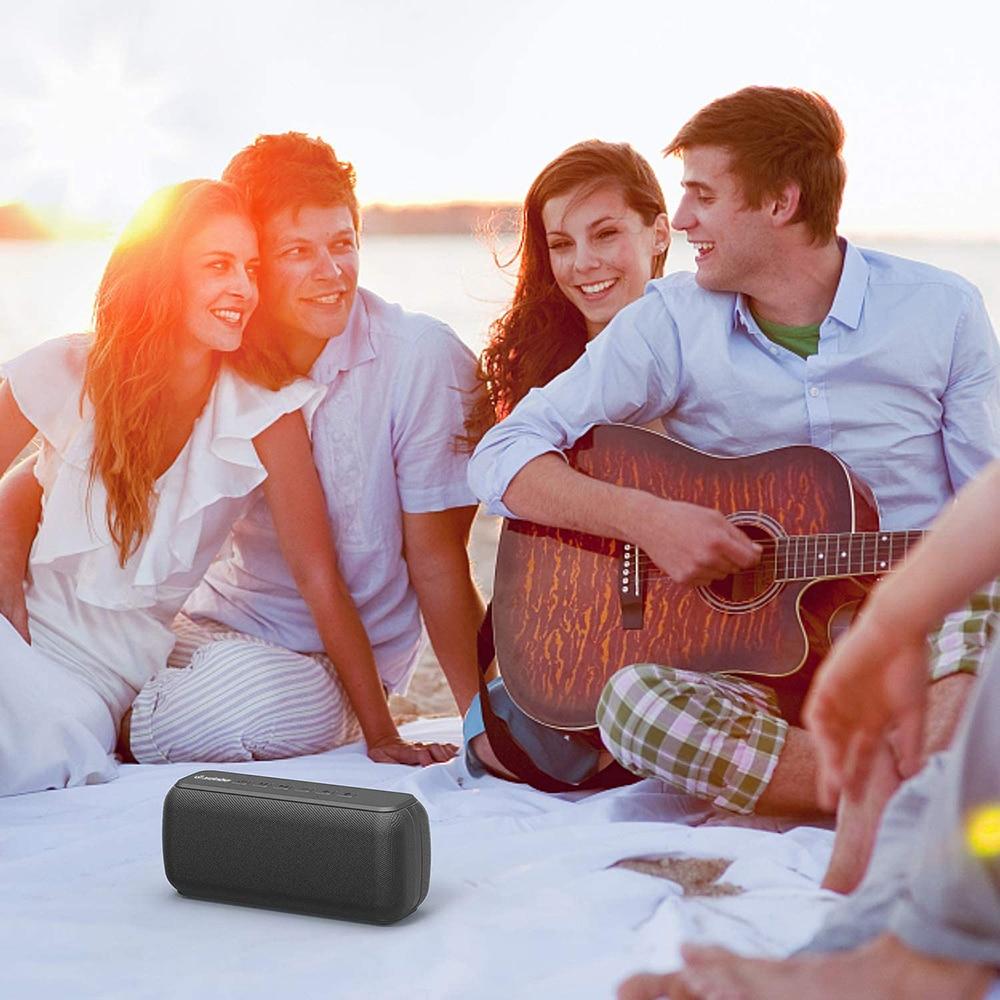 X8 60W High Power Portable Bluetooth Speaker Deep Bass Column TWS Stereo Subwoofer Soundbar Boombox Supports TF Card AUX enlarge