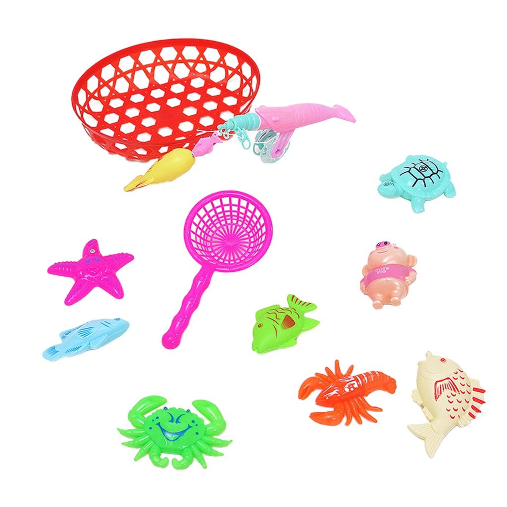 Mesa de suelo de bañera para bebés, pesca, peces de captura, juego de simulación de pescador