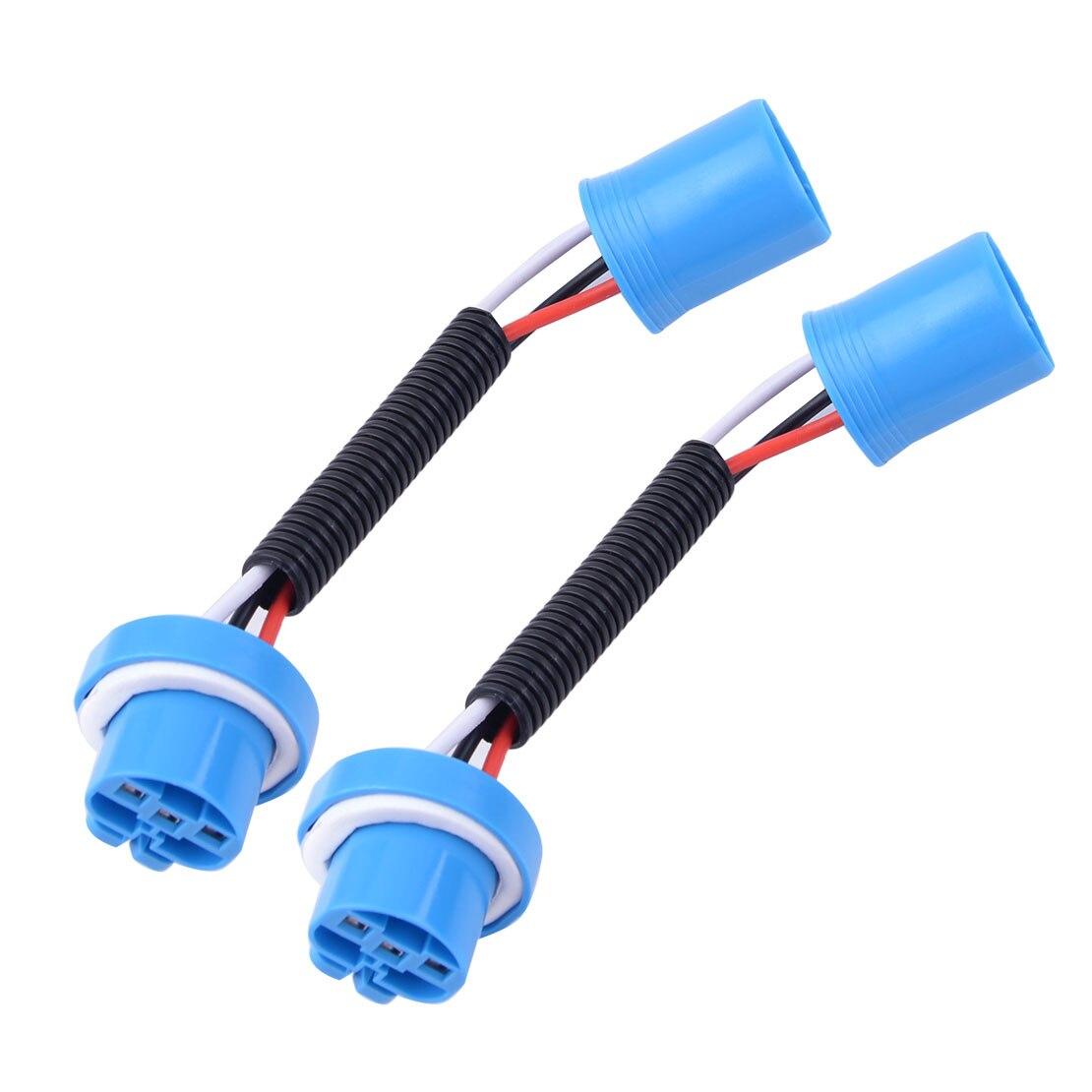 Nouveau 2 pièces phare brouillard conduite lumière Extension câblage harnais prise connecteur pour 9007 9004 HB5 ampoule