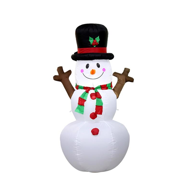 Led Christmas Inflatable Model 1.6m Christmas Inflatable Tree  Christmas Snowman Lights Holiday Lighting House Decoration