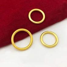 Bague en or coréenne 14k pour femmes et hommes, bijoux de mariage, fiançailles, anneaux de Couple pour amoureux, cadeau danniversaire