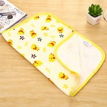 Tapis à langer en coton lavable   Canard jaune, tapis imperméable pour bébé, matelas pour bébé et housse de lit imperméable