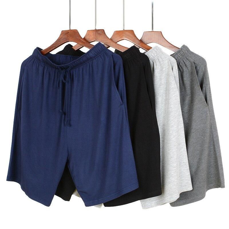 Men Sleep Pants Casual Pajamas Modal Sleepwear Nightgown Soft Intimate Lingerie Sleep Bottoms Lounge