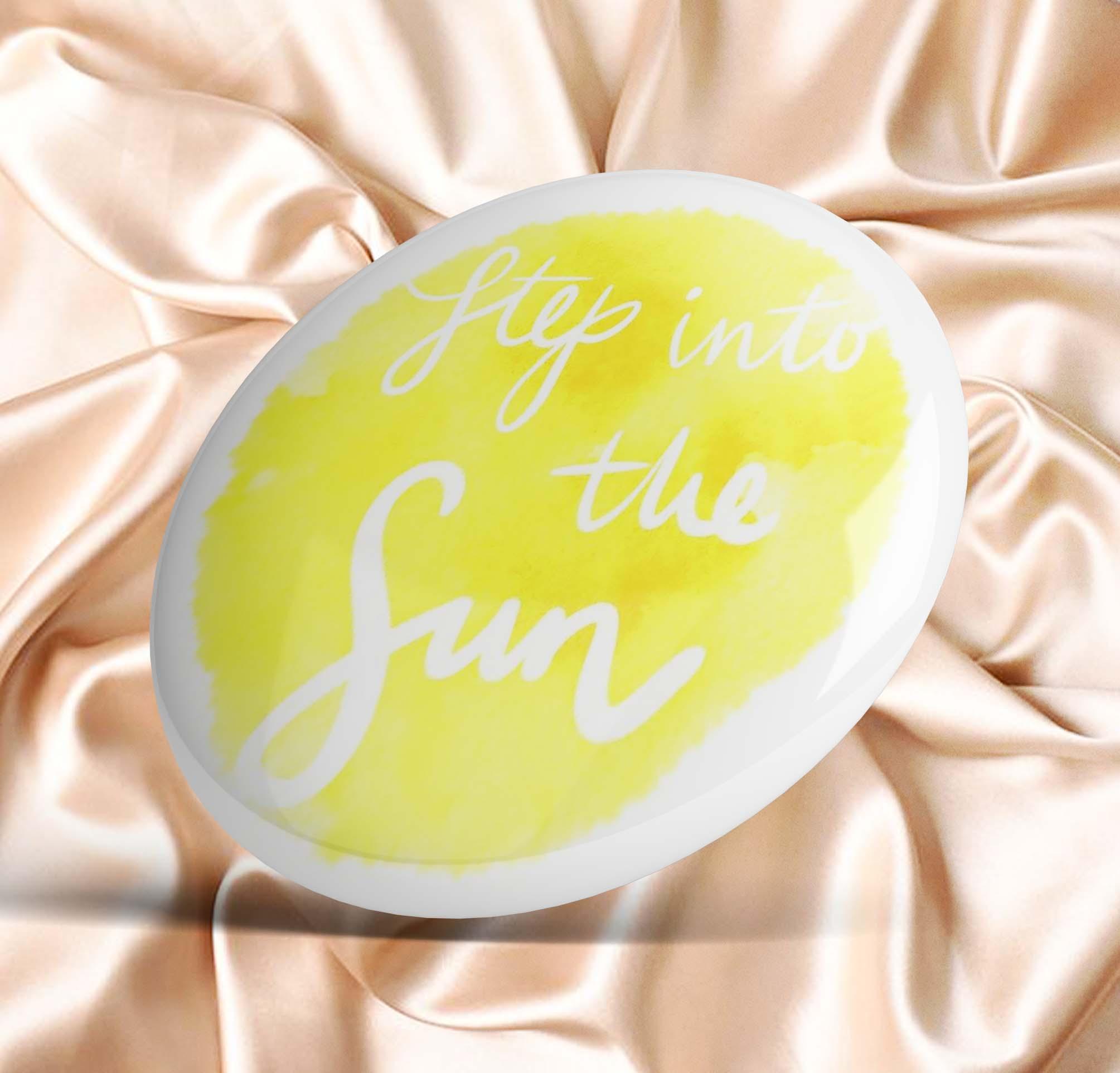 Step into the Sun Dear Evan Hansen  Soft Enamel Pin Metal Gift Collar Lapel Pin Creative Hat Clothes