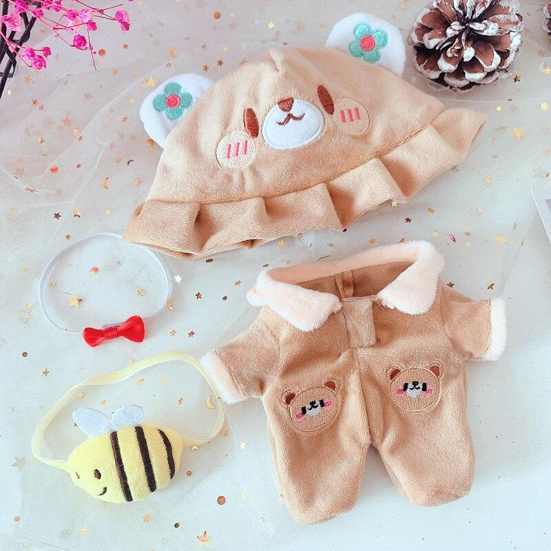 Одежда для кукол EXO 20 см включает шапку и комбинезон 2 предмета, комплект одежды для кукол 20 см (без куклы), аксессуары для кукол из коллекции