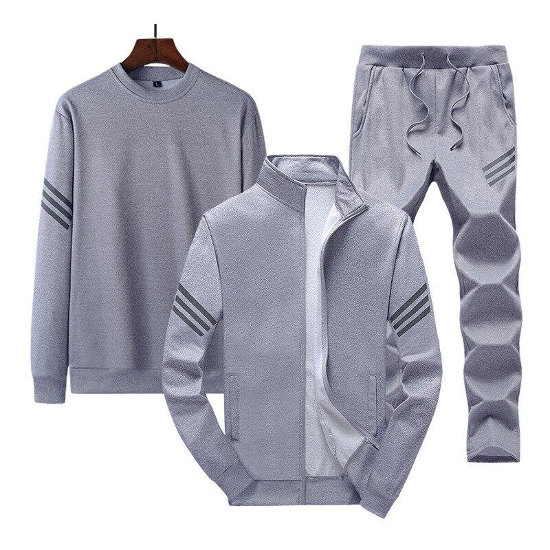 2021 Осенняя мужская куртка + толстовки + штаны, комплекты, толстовка + спортивные штаны + пальто, мужские спортивные костюмы из 3 предметов, кос...