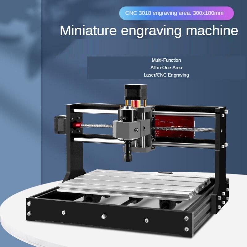 آلة نقش صغيرة أوتوماتيكية ، دقة عالية ، قطع بلاستيك أكريليك يمكن تعديل رأس الليزر