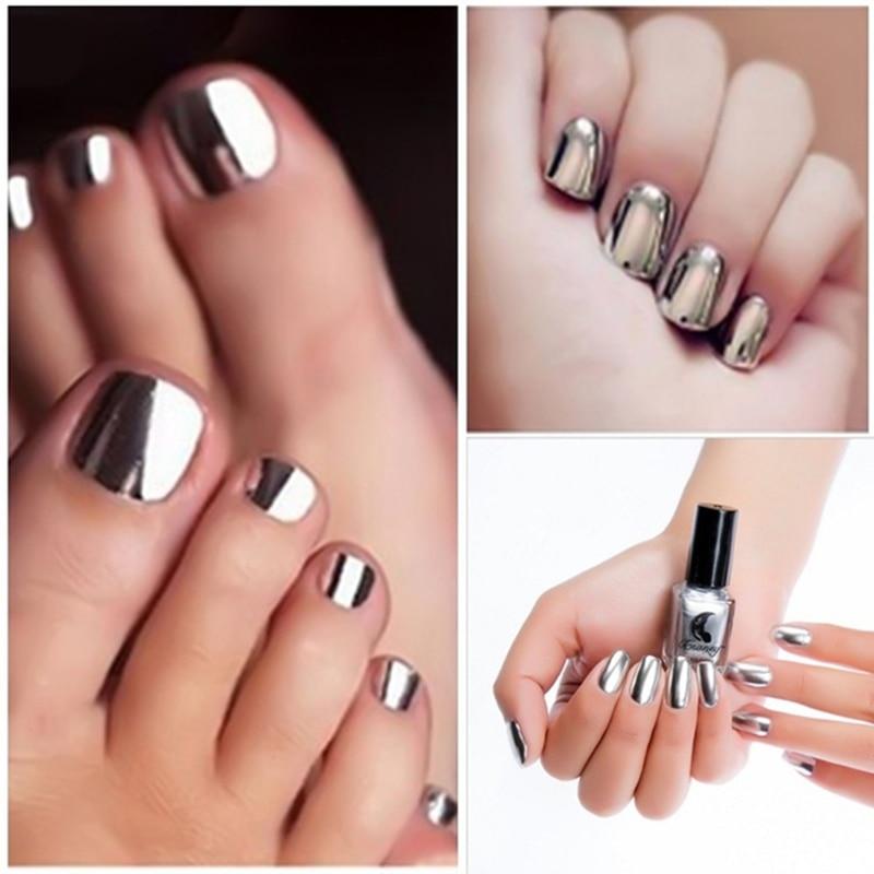 New 14 Colors Mirror nail Sexy Metallics Nail Polish Soak Off Nail Art For Women Girl beauty Makeup