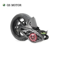 new big power qs motor 14x6 0inch 4000w 138 90h 72v pmsm mid drive motor assembly for electric motorcycle