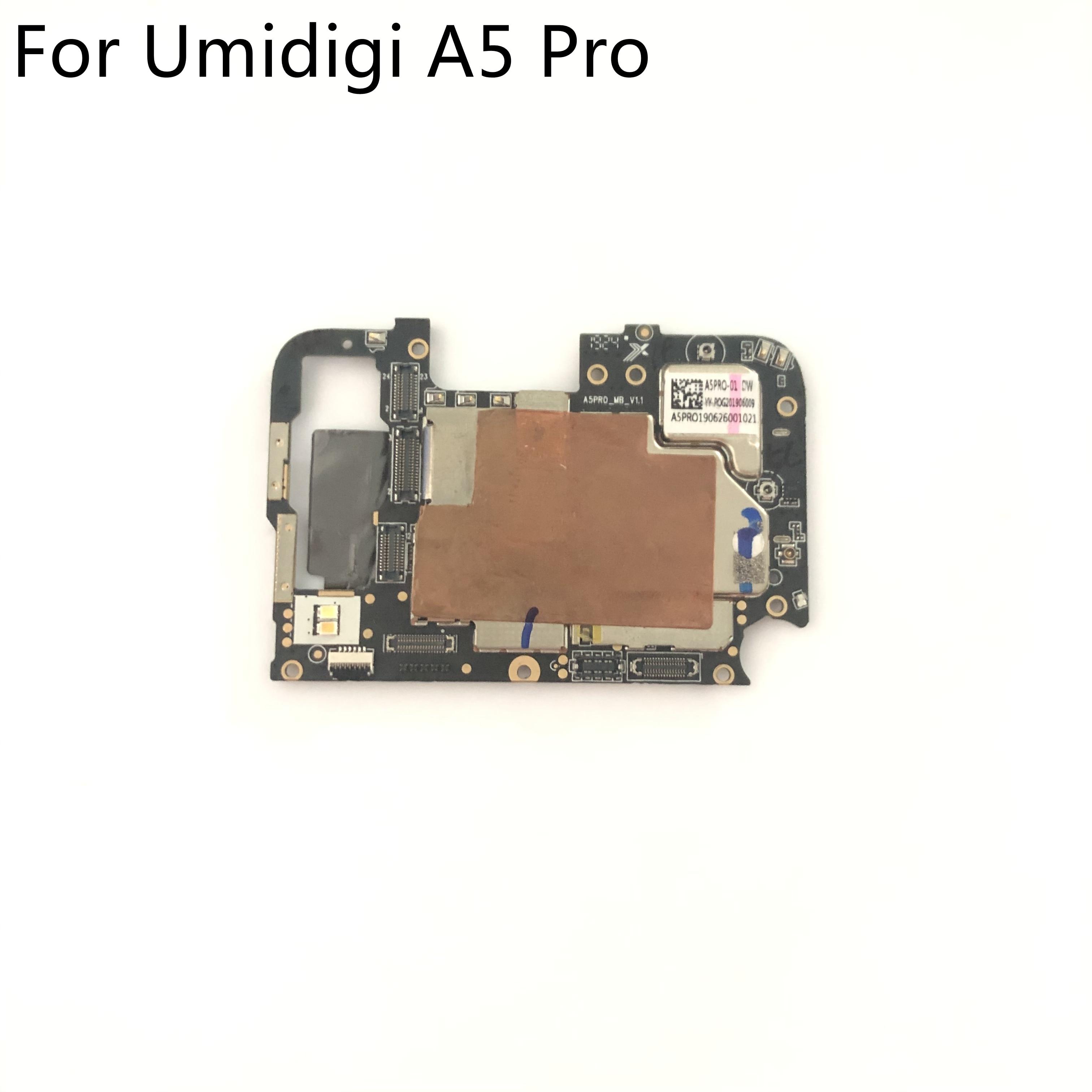 Umidigi A5 Pro Used Mainboard 4G RAM+32G ROM Motherboard For Umidigi A5 Pro Smartphone Free Shipping
