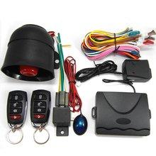 New M802-8101 Car Security System Alarm Immobiliser Central Locking Shock Sensor
