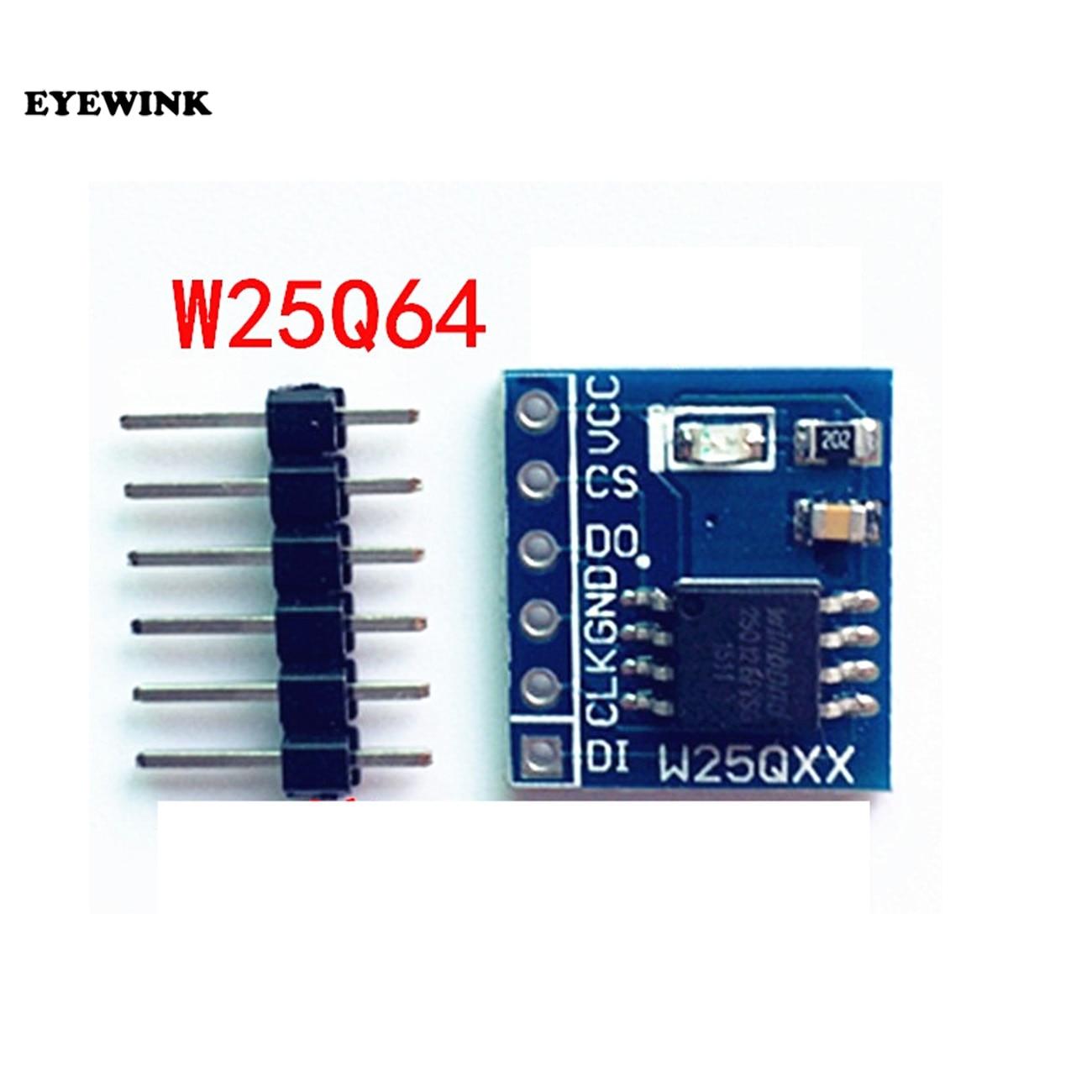 W25Q32 W25Q64 W25Q128 módulo de almacenamiento FLASH de gran capacidad interfaz SPI BV FV código STM32