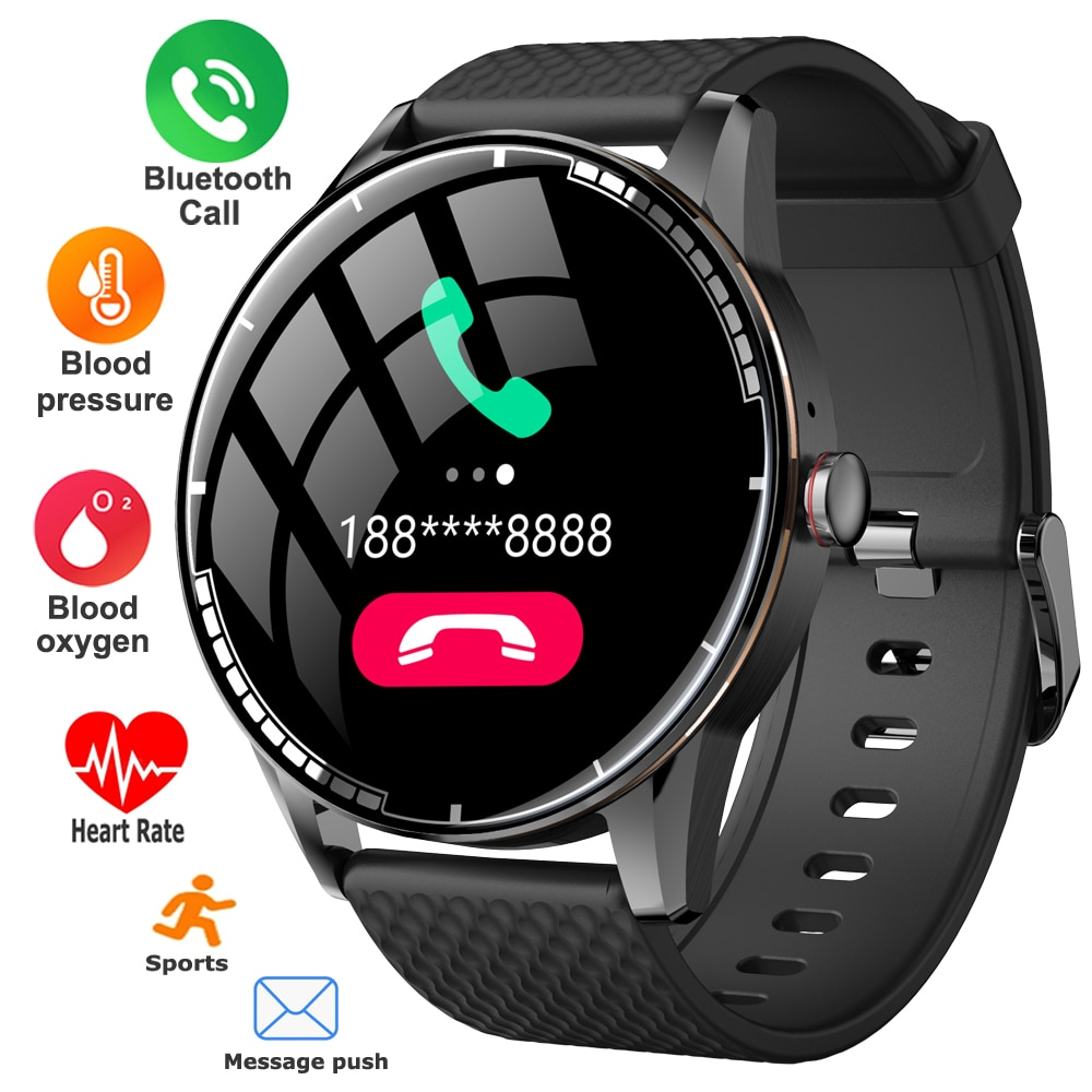 TWS Earphones Connected Smart Watch Men Women Bluetooth Call Smartwatch Waterproof Sport Fitness Tracker Watches For Android IOS