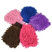car care cleaning gloves kitchen household microfiber wash washing cleaning gloves multicolor car washing tool