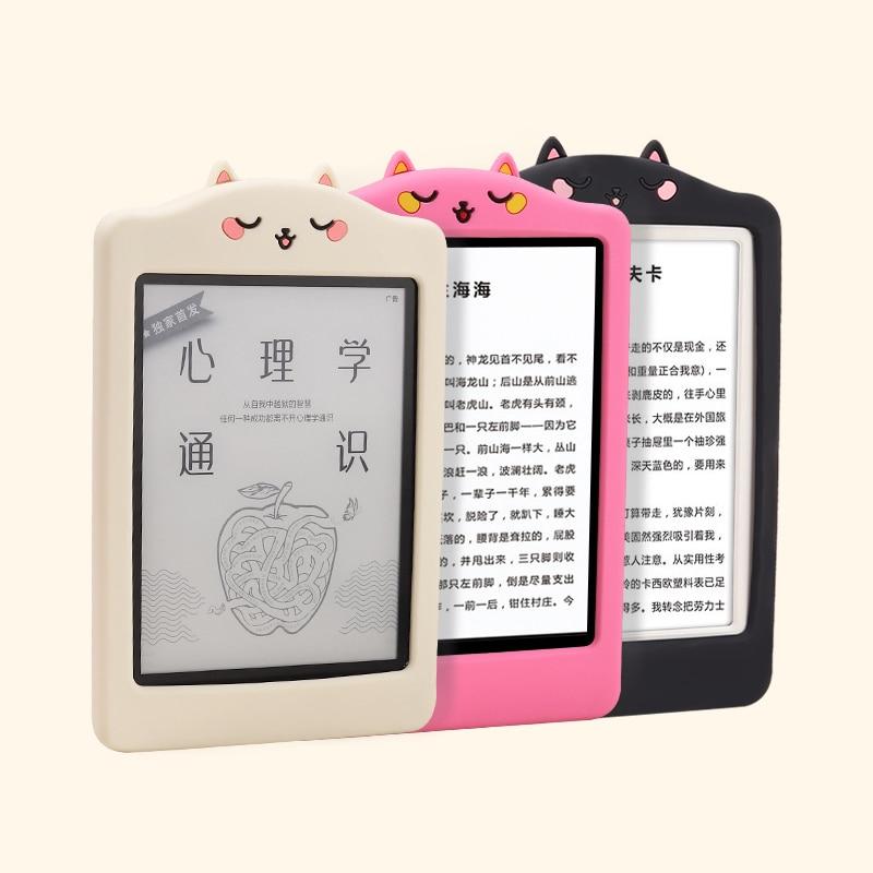 Мягкий силиконовый чехол для Kindle Paperwhite 4 Youth Edition 6 дюймов, чехол для электронной книги, чехол для MiReader, защитный чехол чехол