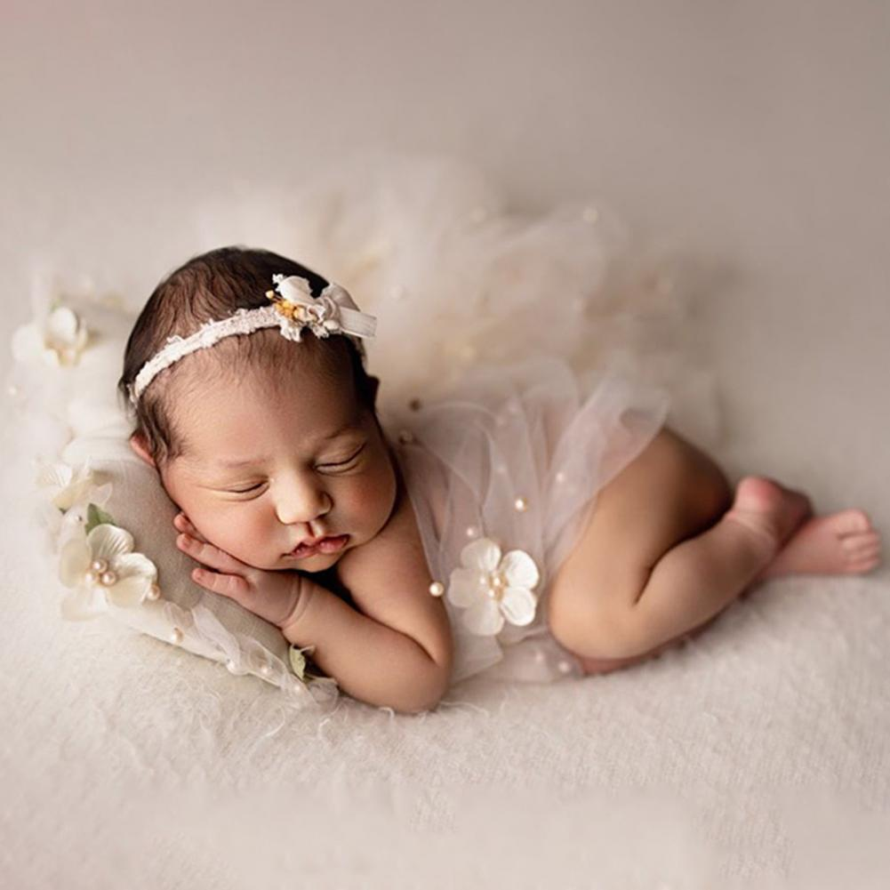 Детское одеяло для фотосъемки, дышащее кружевное Пеленальное Одеяло с цветочным декором для мальчиков и девочек, на день рождения