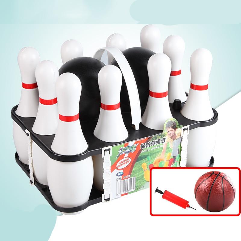 مجموعة ألعاب البولينج المنزلية للأطفال ، مجموعة كرات البولينج ، ألعاب البولينج الداخلية للأطفال من سن 3 إلى 6 سنوات ، ألعاب البولينج للتمارين...