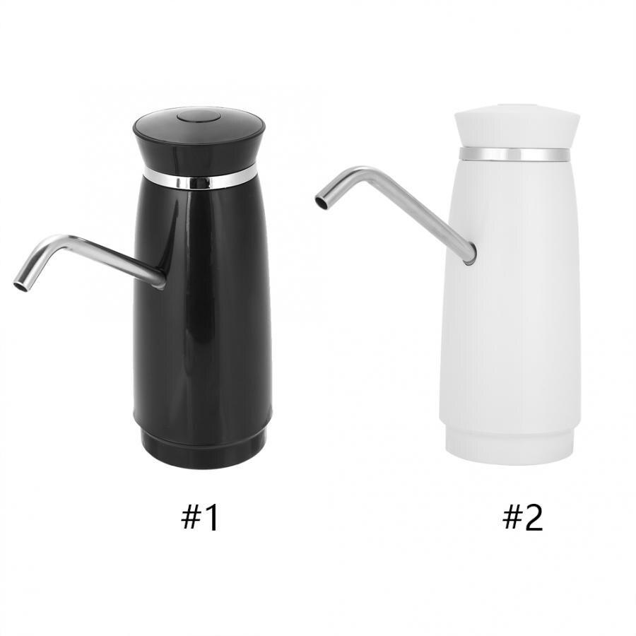 Electric Water Dispenser Wireless Automatic Bottle Drinking Water Pump Dispenser Bucket Bottle Dispenser USB Rechargeable