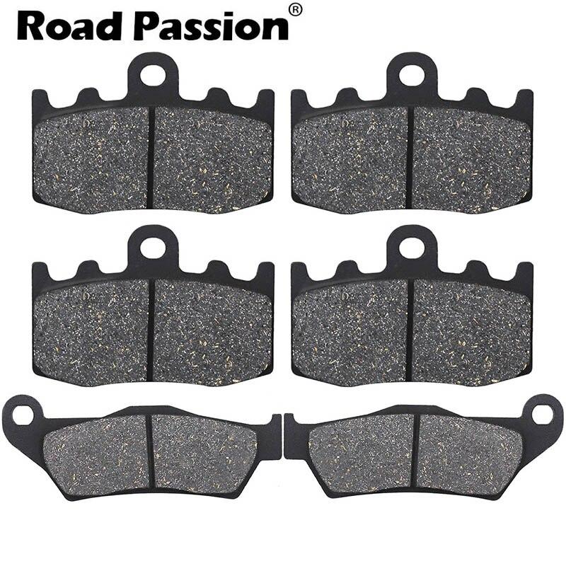 Тормозные колодки Road Passion для мотоцикла, передние и задние тормозные колодки для BMW RG 1200 GS RG1200 GS RG1200GS K25, литые диски 2004 2005 2006 2007 2008