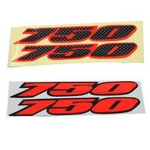 Moto réservoir protection emblème Badge autocollant Logo autocollant pour Suzuki GSX-R GSXR 750 GSXR750 K1 K2 K3 K4 K5 K6 K7 2001-2007
