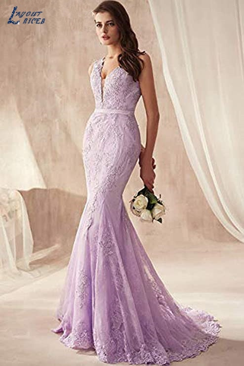 LAYOUT NICEB Illusion V Mermaid Evening Dress Crystal Formal Party Dresses for Women Prom Gowns Train robe de soirée de mariage недорого