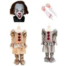 Enfants 2019 Stephen King IT 2 It chapitre deux Pennywise Cosplay Costume tenue Clown Costume pour enfants Halloween carnaval fête